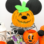 DIY Light-Up Mickey Pumpkin Decoration!