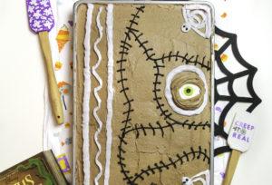 Hocus Pocus Spell Book Sheet Cake!