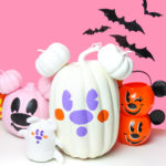 Easy Mickey Ghost Pumpkin DIY!