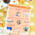 Free Printable Thanksgiving Bucket List!