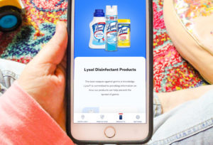 Helping My Family Prevent the Spread of Germs With The Lysol Germ-Cast™ App!