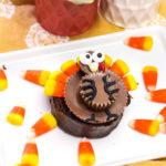 Mini Turkey Cake Treats!