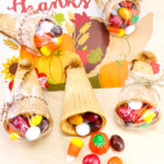 Easy Thanksgiving Cornucopia Candy Treats!