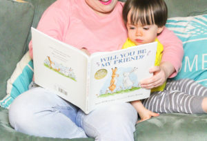"Story Time With The ""Will You Be My Friend?"" Book!"