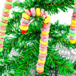 Fruit Loop Cereal Candy Canes!