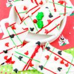 Make Mickey Mouse Christmas Chocolate Bark!
