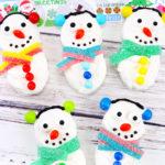 Easy Snowman Nutter Butter Treats!