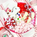 Valentine's Day Hot Cocoa Bomb & Cookie Decorating Treats Board!