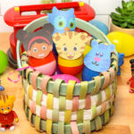 Easy Daniel Tiger Easter Eggs!