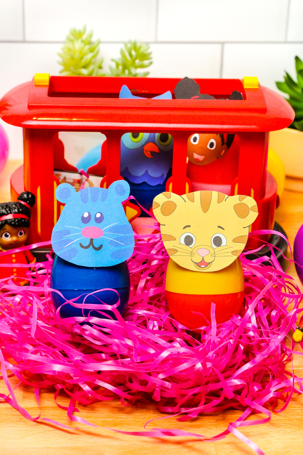 Daniel Tiger and Tigey Easter Eggs