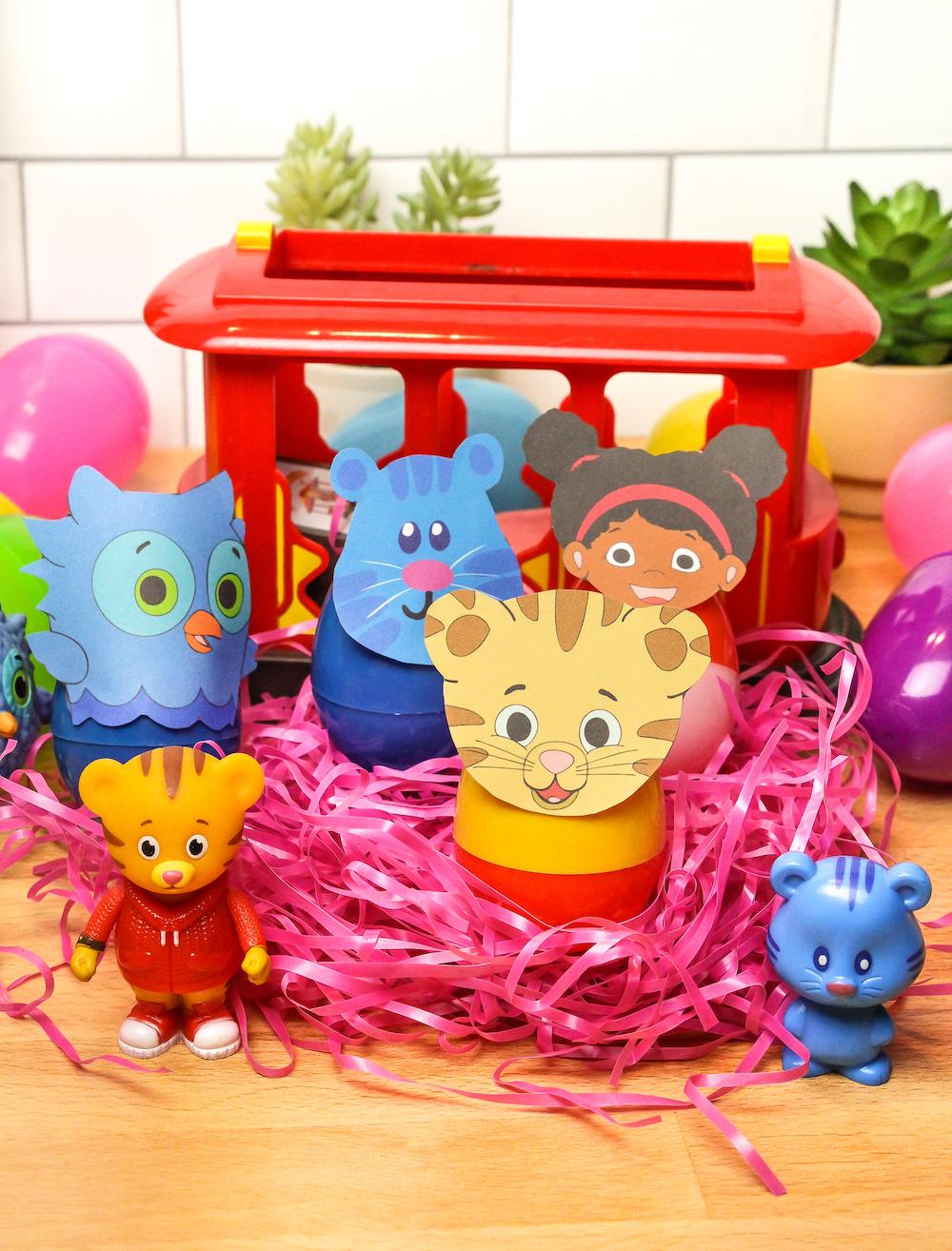 Daniel Tiger Easter Eggs Group photo