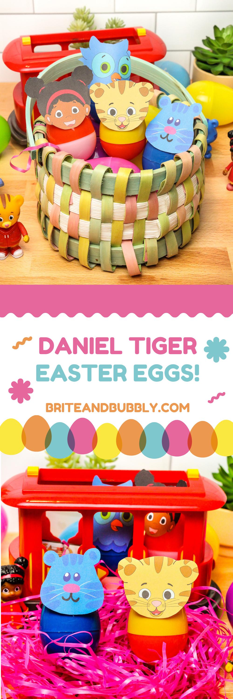 Daniel Tiger Easter Eggs Pinterest Image