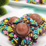 Easter Chocolate Thumbprint Cookies!