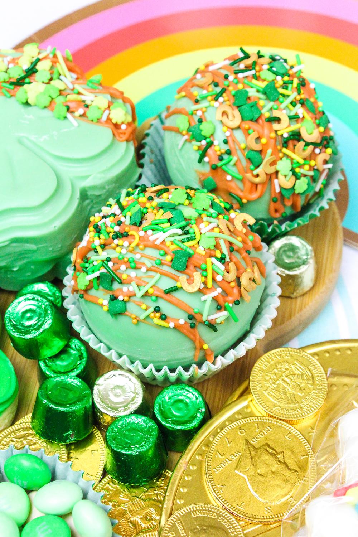 Saint Patrick's Day Round Hot Cocoa Bombs