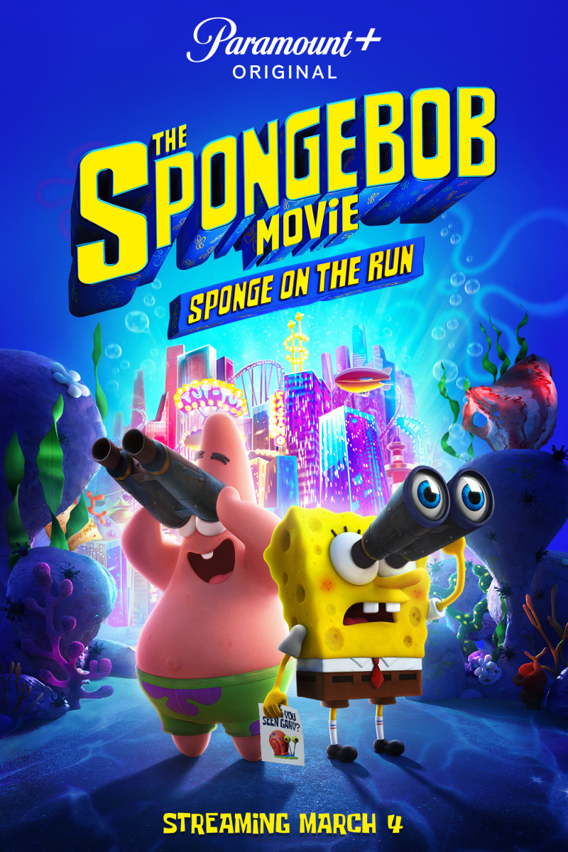 Spongebob Movie Sponge on The Run Poster Image