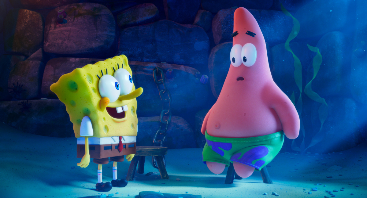 Spongebob Movie Sponge on The Run Movie Still of Spongebob and Patrick