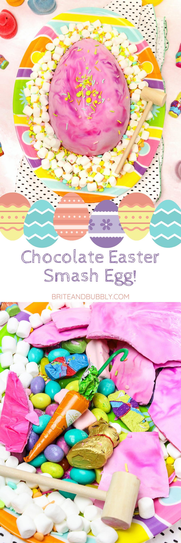 Chocolate Easter Smash Egg Pin