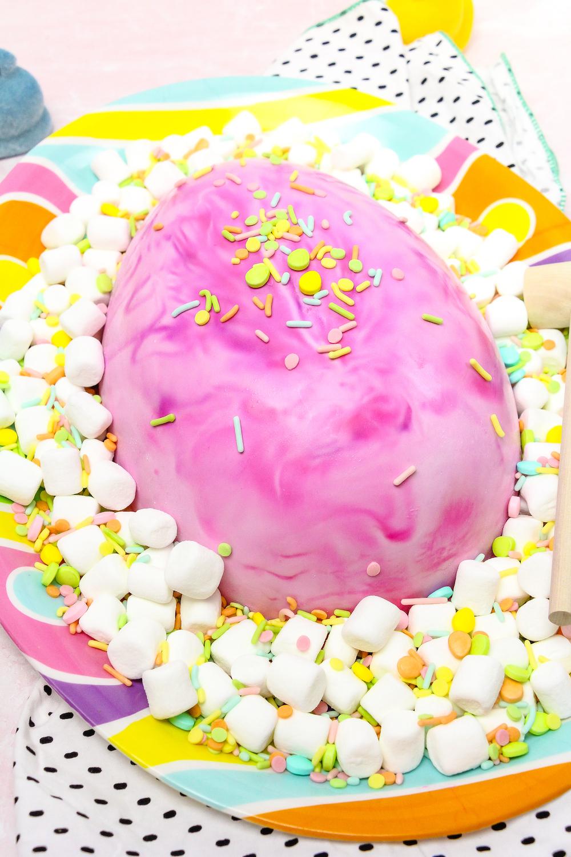Close Up Photo of Easter Smash Egg