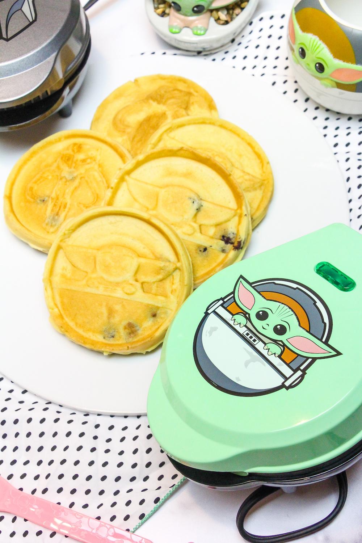 Baby Yoda Mini Waffle Makers