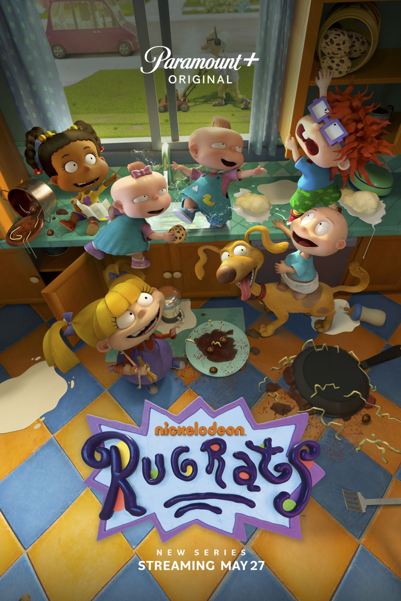 Pictured: The cast of the Paramount+ series RUGRATS. Photo Cr: Nickelodeon/Paramount+ ©2021, All Rights Reserved.
