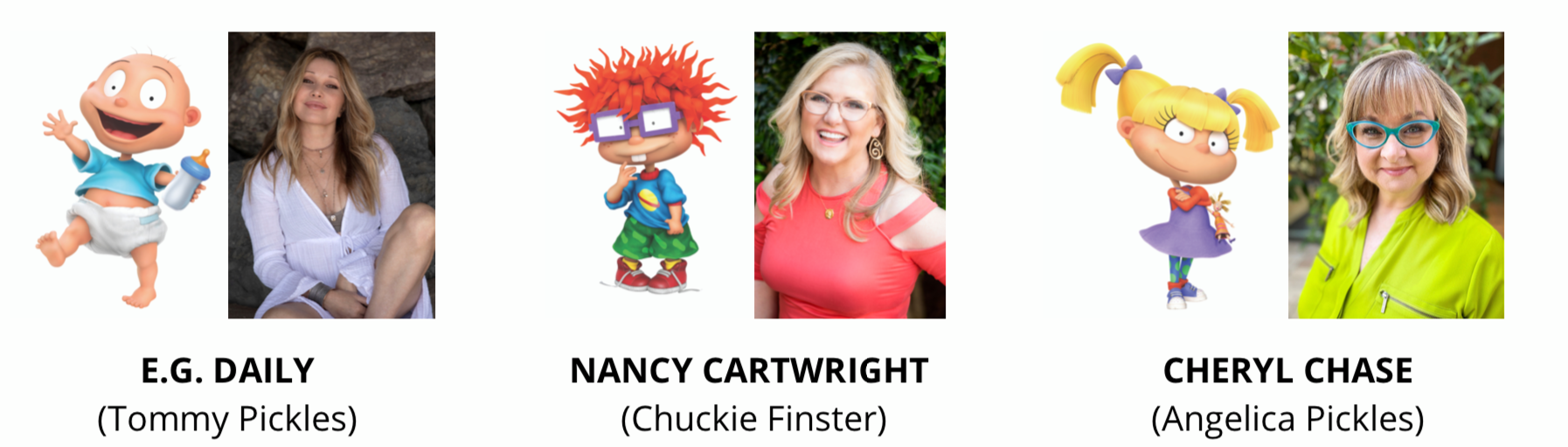 Pictured: The cast of the Paramount+ series RUGRATS.