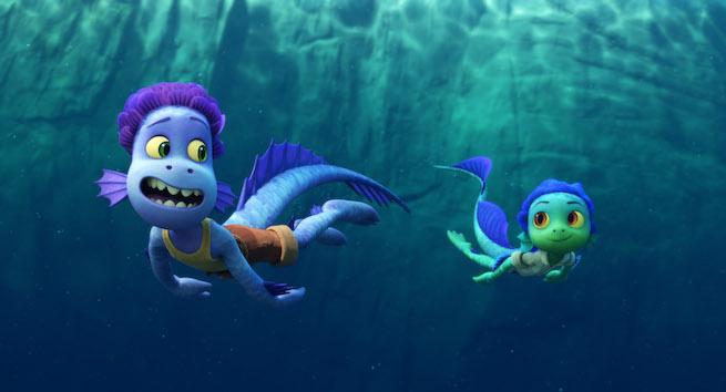 Disney Pixar Luca Sea Monsters