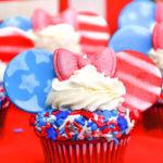 July 4th Minnie Cupcakes!