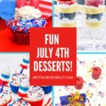 Seven Fun July 4th Desserts!
