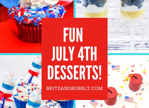 July 4th dessert round up