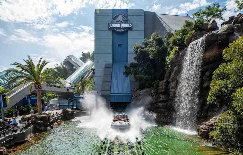 Jurassic World - The Ride at Universal Studios Hollywood