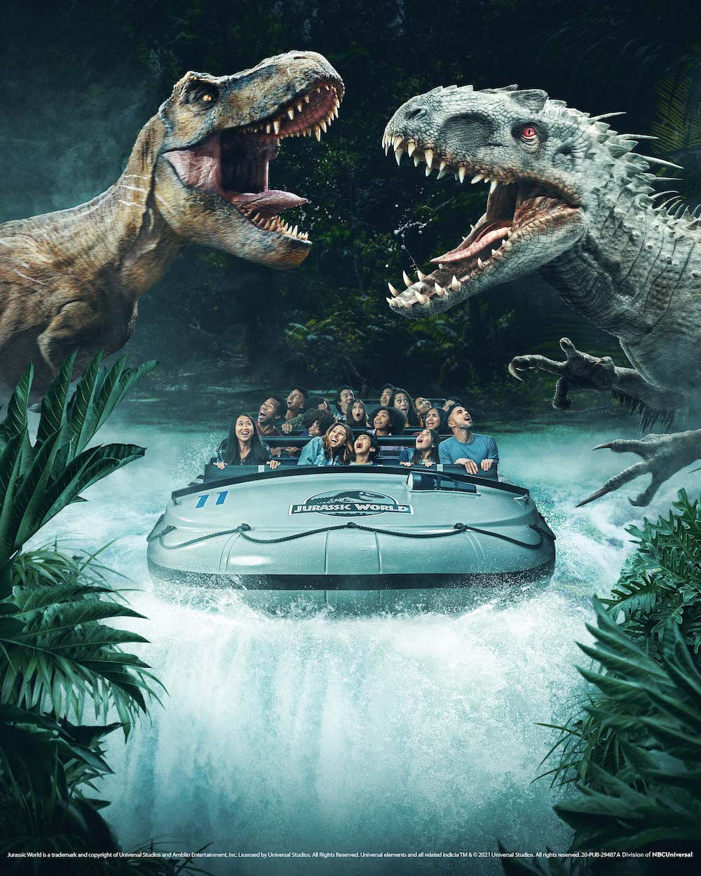 """Universal Studios Hollywood brings guests face-to-face with """"Jurassic World"""