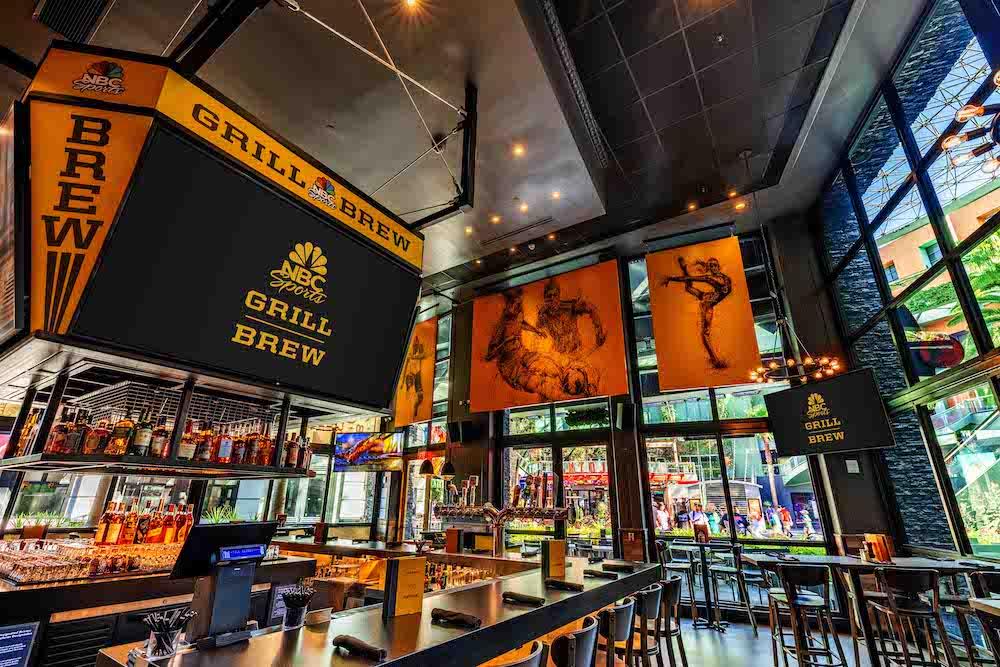 NBC Sports Grill & Brew - Interior