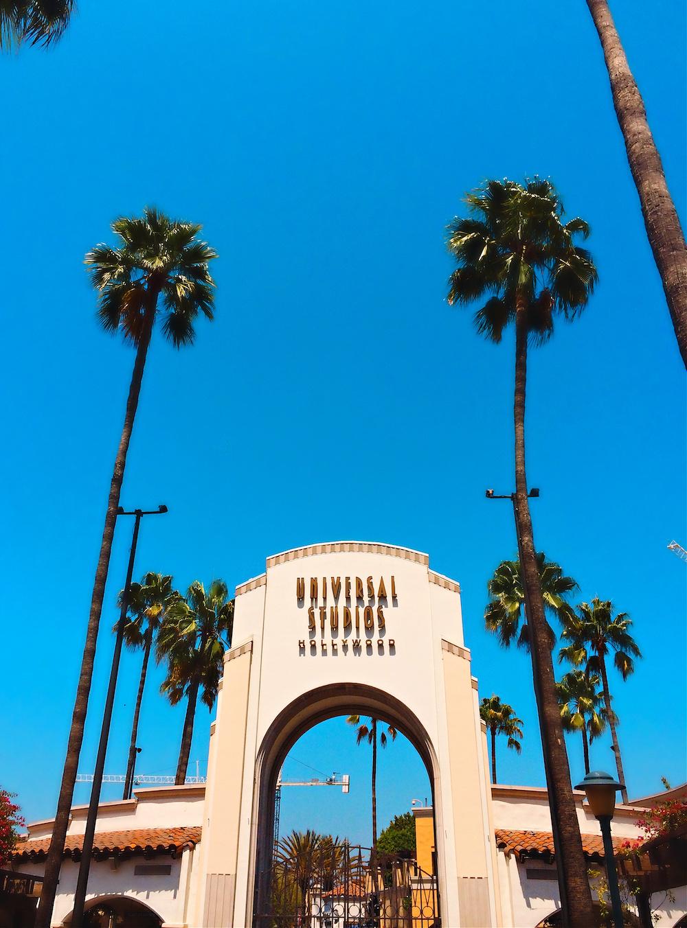 Universal Studios Hollywood Entrance