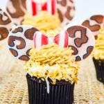 Jungle Cruise Inspired Minnie Cupcakes!