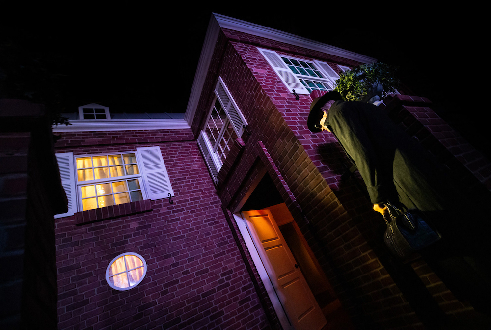 The Exorcist maze at Halloween Horror Nights 2021 at Universal Studios Hollywood