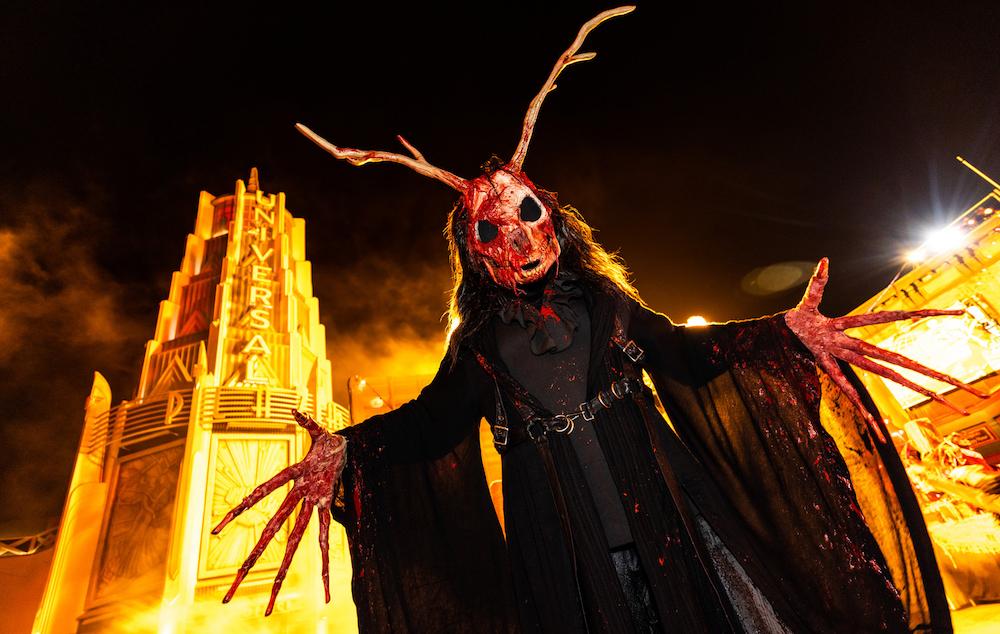 Scarezone at Halloween Horror Nights 2021 at Universal Studios Hollywood