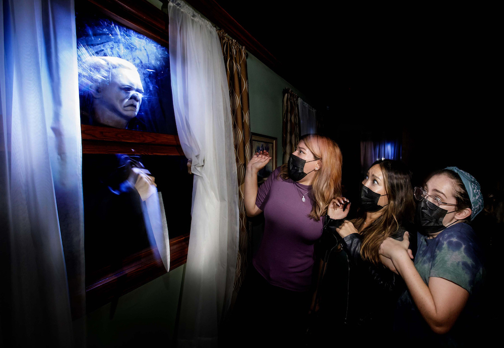 Halloween 4: The Return of Michael Myers maze at Halloween Horror Nights 2021 at Universal Studios Hollywood