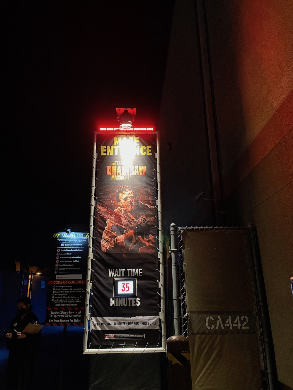 Food Halloween Horror Nights 2021 at Universal Studios Hollywood