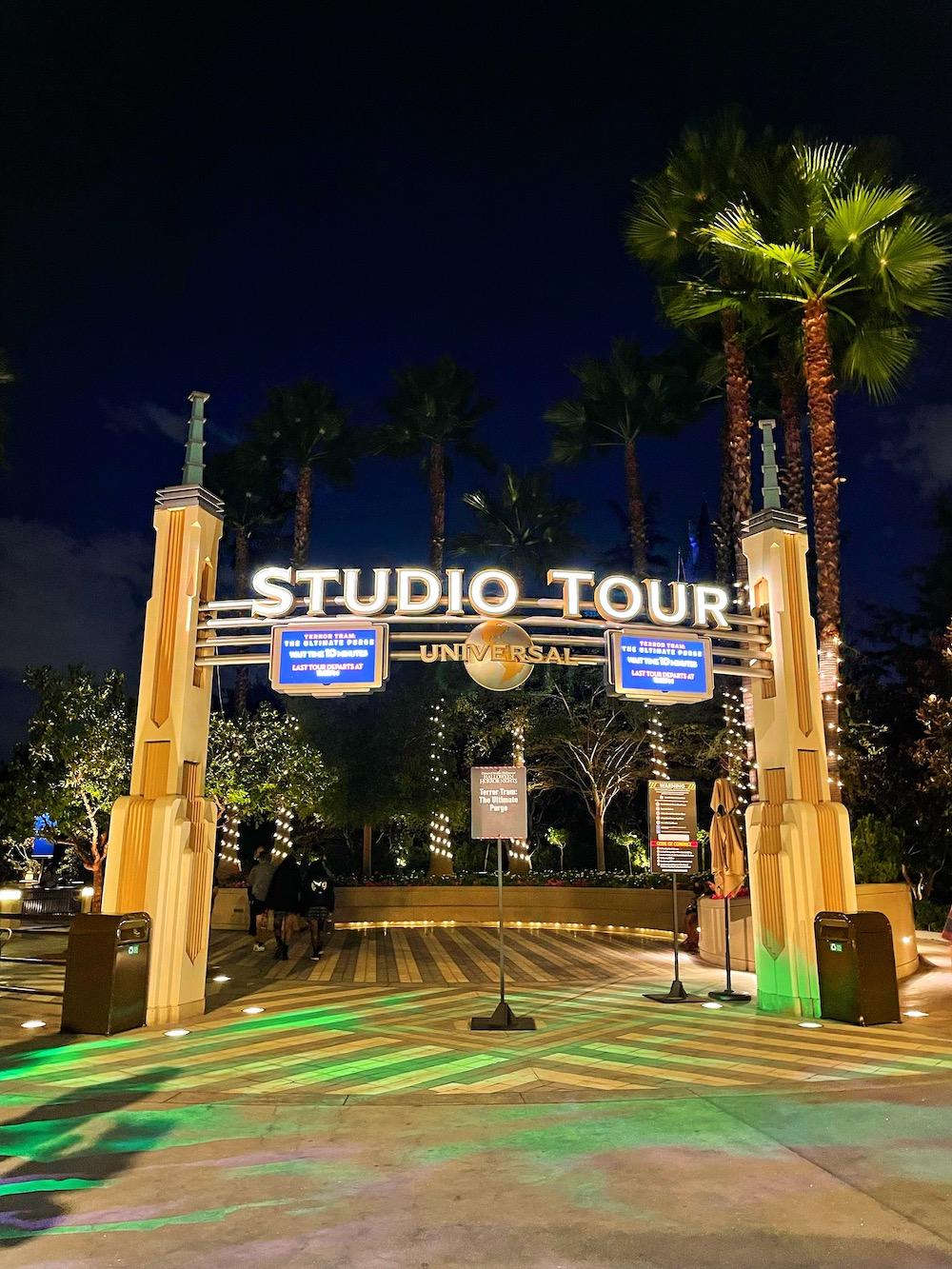 Studio Tour Halloween Horror Nights 2021 at Universal Studios Hollywood