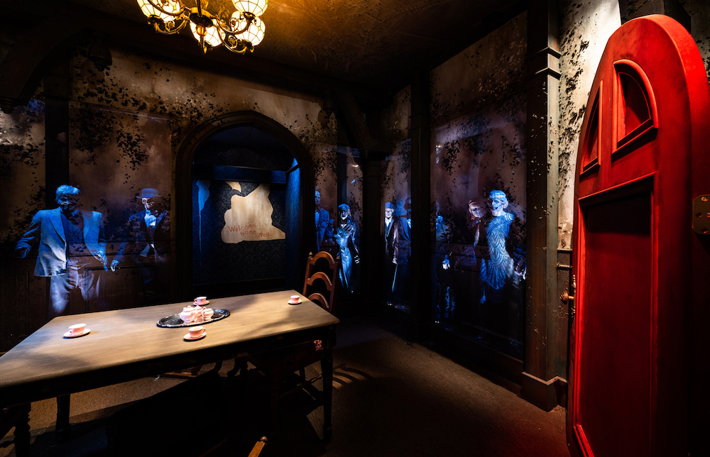 The Haunting of Hill House maze at Halloween Horror Nights 2021 at Universal Studios Hollywood