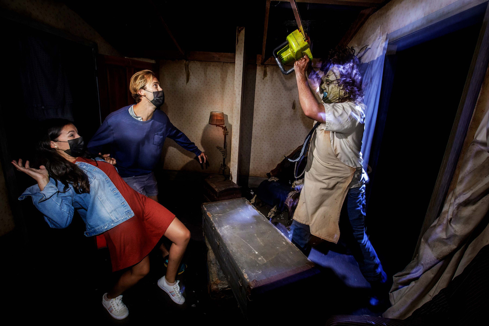 The Texas Chainsaw Massacre Maze at Halloween Horror Nights 2021 at Universal Studios Hollywood