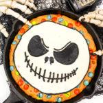 Nightmare Before Christmas Jack Skellington Cookie Cake!
